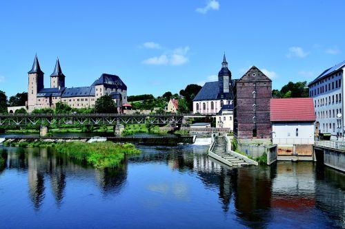 rochlitz pilis,Saksonija,mulde