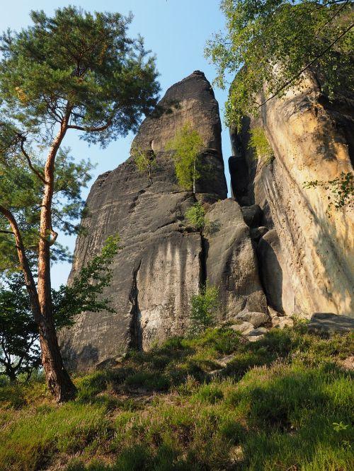 Rokas,elbe smiltainis,žygis,smiltainio uolienos,kraštovaizdis,akmens formavimas,žygiai,Elbe smiltainio kalnai,smiltainio kalnas,Saksonijos šveicarija