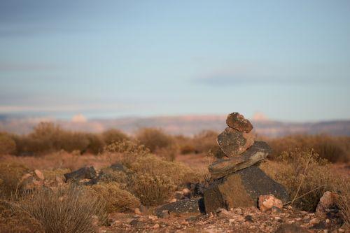 Rokas,žymeklis,takas,Utah,akmuo