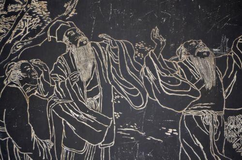 Rokas, drožyba, menas, iliustracija, meno kūriniai, Kinija, kinai, žmonės, roko drožyba