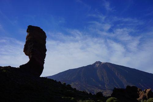 uolos bokštas,roque cinchado,akmens medis,dievo pirštas,orientyras,Tenerifė,Rokas,uolos,roque de garcia,ucanca lygis,bazaltas,lava,ucanca,kaldera,skaityti cañadas,Teide nacionalinis parkas,Kanarų salos,teide,kalnas,vulkanas,aukščiausiojo lygio susitikimas,pico del teide,teyde,3718 m,3718 metrai,3718