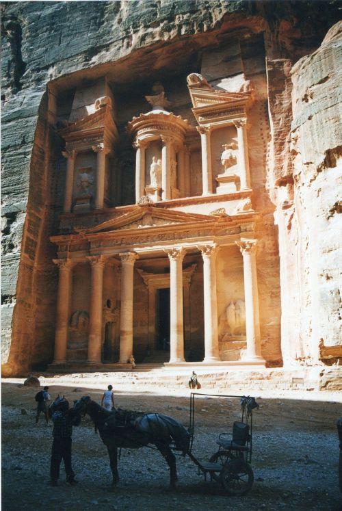 Roko Miestas, Petra, Jordan