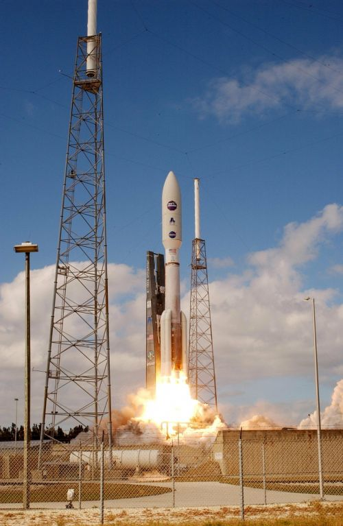 Raketa, Pradėti, Kosmosas, Palydovas, Ugnis, Kilti, Nauji Horizontai, Kosmoso Zondas, Nasa, Erdvė, Kosmoso Kelionės