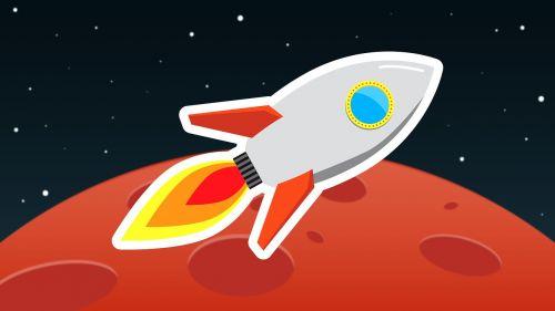Raketa, Kosmosas, Skrydis, Astronautika, Fikcija, Kosmoso Kelionės, Iliustracija, Figūra