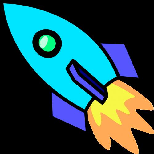 Raketa, Varomoji Jėga, Erdvėlaivis, Variklis, Technologija, Propeleris, Kosmoso Kelionės, Kosminis Laivas, Tyrinėjimas, Raketa, Skrydis, Tyrimai, Sviedinys, Transportas, Uždegimas, Paleisti, Mokslas, Nemokama Vektorinė Grafika