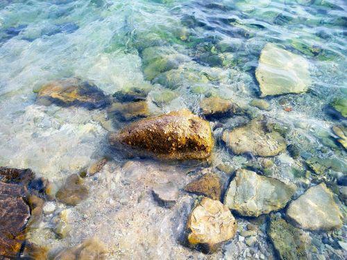 akmenys,papludimys,skaidrus,skaidrus vanduo,jūra,adrijos regionas,montenegro