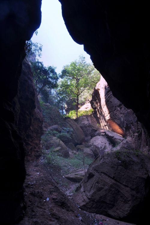 akmenys, kalvos, reljefas, gamta, augmenija, žaluma, slėnis, Gorge, uolos ir kalvos 4