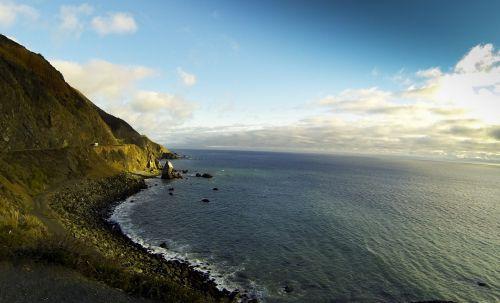 akmenys, kranto linija, Krantas, vandenynas, jūra, ripples, uolingas krantas