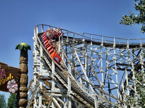Rollercoaster,pritraukimas,Adrealinas