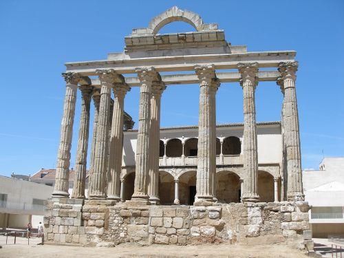 romėnų,merida,Romos imperija,romėnų teatras,šventykla,emeritas