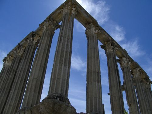 romėnų,šventykla,istorinis paminklas,sugadinti,stulpeliai,orientyras,kultūra,griuvėsiai,senas,senovės,istorija,istorinis,paminklas,istorinis,struktūra,architektūra
