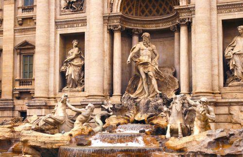 Roma,lazio,italy,fontana,trevi,fontana di trevi,kapitalas,roma capitale,senovės Roma,paminklas,senovės,kultūra,menas,skulptūra,statula,statulos,istorija,paveldas