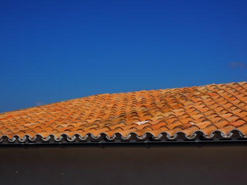 stogas,stogas,Plokščias stogas,raudona,namo stogas,plytelės,Viduržemio jūros,architektūra