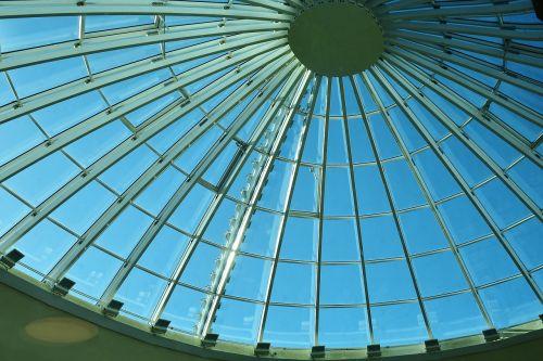 stogas,kupolas,kupolinis stogas,metalas,stiklas,šviesti,architektūra,struktūra,šiuolaikiška,sidabras,šviesos taškai,hellabrunn,zoologijos sodas,Munich,bavarija,metalinis,plienas,blizgesys,dangus,saulė,mėlynas,Nerūdijantis plienas,atidarymas,geležis,technologija