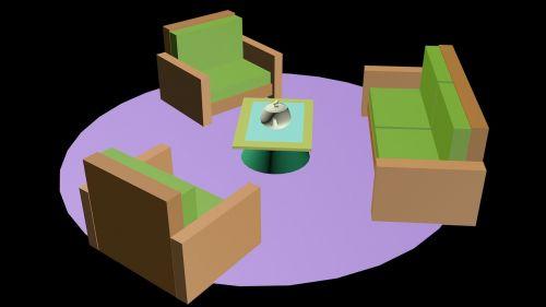 kambarys,dizainas,3d,elegantiškas dizainas,viduje