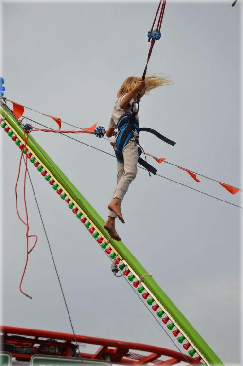 pramogos, pramogos, kultūra, festivalis, bungee & nbsp, šokinėja, šokinėjimas guma