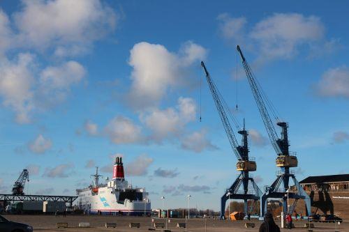 Rostock, Vokietija, Šiaurinė Vokietija, Baltijos Jūra, Uostas