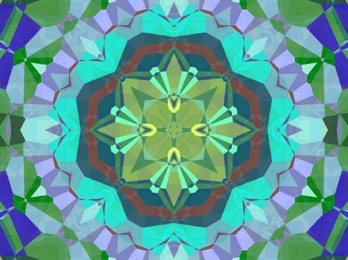 fonas, tapetai, spalvinga, abstraktus, apvalus, geometrinis, Kaleidoskopas, apvalus kaleidoskopo modelis