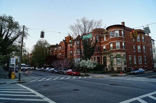 Eiliniai Namai, Namai, Namai, Miestas, Gatvė, Baltimore