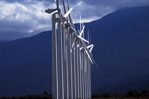 saulės energija, saulės ir nbsp, galia, alternatyva & nbsp, energija, energija, žalia energija, žalias, aplinka, palmių & nbsp, spyruoklės, Kalifornija, dykuma, coachella & nbsp, slėnis, saulės vėjo malūnų eilė