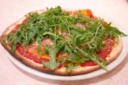 rucola pica,pica,valgyti,pica topping,vegetariškas,daržovių pica,maistas,maistas,vakarienė,raketa,arugula