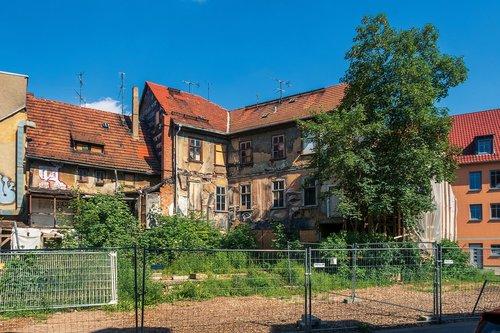 Sugadinti,  Renovuoti,  Erfurtas,  Reabilitacijai,  Renovacija,  Svetainės,  Statyba,  Architektūra,  Senas Pastatas,  Istorinis Centras,  Tiuringija Vokietija,  Vokietija