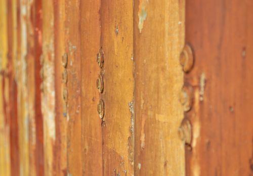 korozija, skilimas, rūdys, rusvas, sraigtai, metalas, tapetai, fonas, abstraktus, rūdys