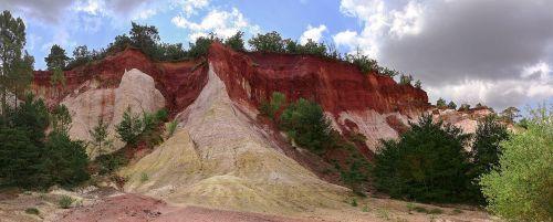 rustrel,france,spalva,provencal colorado,Vaucluse,Provence,žemė,kanjonas,ochra,Provenceo spalva,gamta ir kraštovaizdis,kraštovaizdis,provenalinė spalva,Colorado