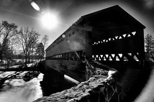 Sachs, padengtas, tiltas, Gettysburg, pennsylvania, pa, civilinis, karas, usa, vieningos & nbsp, valstijos, istorija, senas, vintage, Sacho dengtas tiltas