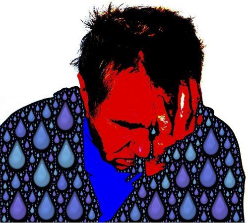 liūdnas,liūdnas,ašarojimas,emoji,ašaros,liūdesys,liūdesys,depresija,depresija,nelaimingas,emocija,liūdnas veidas,sielvartas,išraiška,neviltis,vyras,bėda,depresinis vyras,emocinis