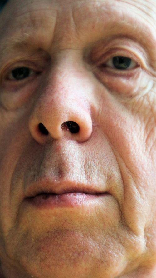liūdnas, vyras, savarankiškai, portretas, autoportretas, senas, Patinas, Iš arti, raukšlės, liūdnas žmogus