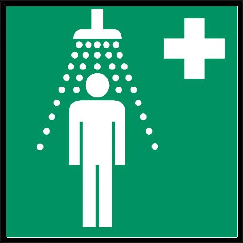 saugos dušas,dušas,dušas,pagalba,žalias,ženklas,simbolis,piktograma,nemokama vektorinė grafika
