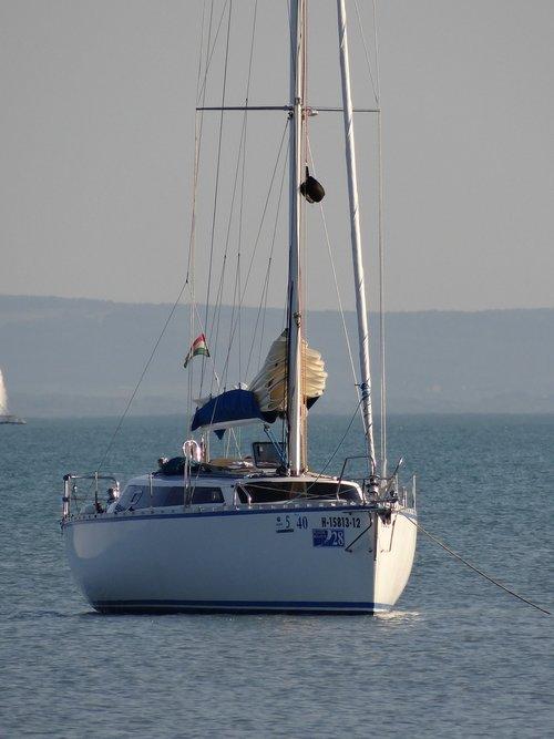 burinė valtis, burine jachta, vandens, laivas, plaukti, atostogos, valtis, vasara, burlaivis, buriavimo jachtos, burė stiebai
