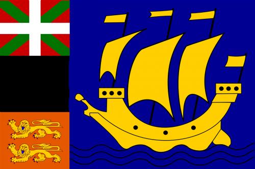 saint,vėliava,pierre,miquelonas,saint-pierre,teritorija,france,Prancūzijos teritorija,katalikų,Miestas,nemokama vektorinė grafika