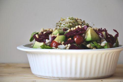 salotos,sveikas,Veganas