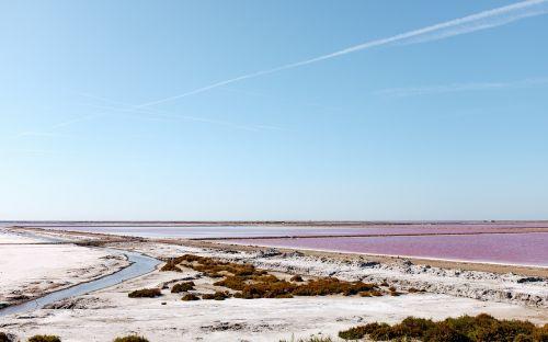 druskos ežeras,vanduo,kraštovaizdis,ežeras,druska,gamta,mėlynas,dangus,dykuma,dykuma,vaizdas,lauke,mineralinis,upė,karštas,raudona,violetinė