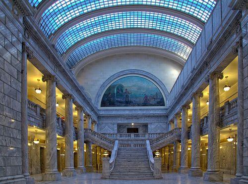 Salt Lake miestas,capitol,Utah,usa,hdr