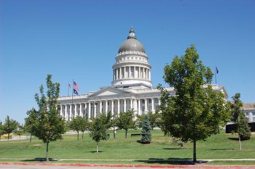 Salt Lake miestas,valstijos kapitonas,pastatas,Utah