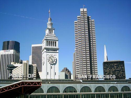 San Franciskas,pastatai,architektūra,architektūra,miesto panorama,šiuolaikiška,miestas,dangus