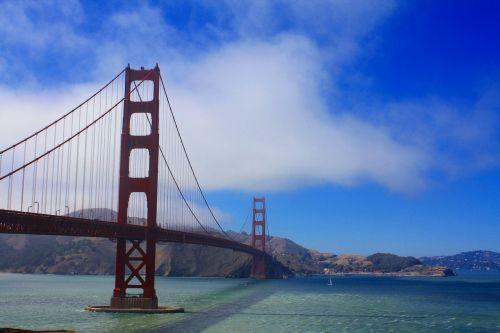 San Franciskas,Auksinių vartų tiltas,Kalifornija,įlanka,San,francisco