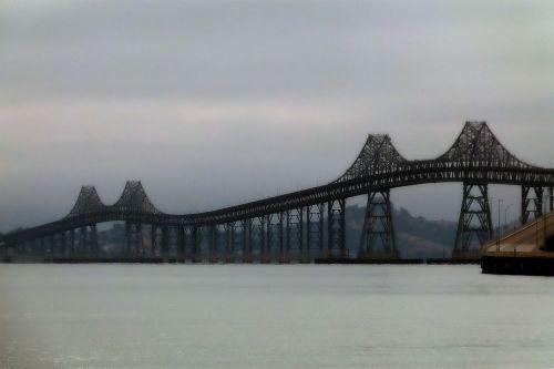 san rafael tiltas,San Franciskas,Kalifornija,usa,geležis,migla