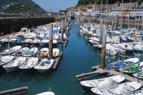 San Sebastiano uostas,Donostia,Ispanija,įlanka,valtis,jūra,uostas,Baskų,uostas,uostas,kranto,gipuzkoa,laivas,ispanų,žvejyba,Krantas,jūrinis,tvirtinamas