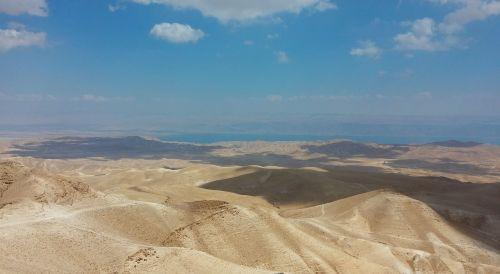 smėlis,dykuma,Judėjos dykuma,Izraelis,peizažas,kalvos,dangus,dykuma