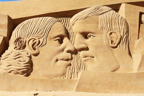 smėlis,skulptūra,papludimys,meno kūriniai,festivalis,smėlio skulptūra,smėlio skulptūros,menas,denmark,søndervig,skulptūros menas,trumpalaikis laikotarpis,menininkai,smėlio nuotrauka,smėlio paplūdimys veidai,vyras,moteris