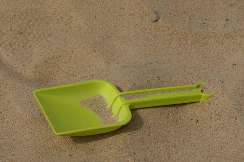 smėlio kastuvas,Žaidimų aikštelė,kastuvas,vasara