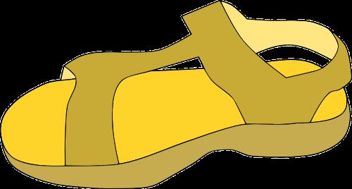 sandalas,avalynė,batai,nemokama vektorinė grafika