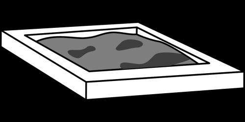 sandbox,playgoround,pilka,nemokama vektorinė grafika
