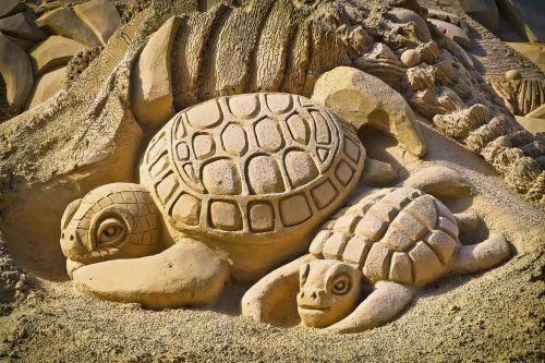 Sandburgas,menas,smėlio skulptūra,skulptūra,smėlis,statula,smėlio nuotrauka,meno kūriniai,pilis,papludimys,smėlio skulptūros,vasara,statyti,linksma,pritraukimas,Šiaurės kraštovaizdžio parkas Duisburgas,vėžliai,gyvūnų figūra