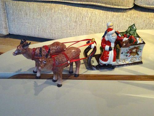 santa, Claus, Kalėdos, xmas, rogės, važiuoti, sleighs, važiuoja, šiaurės elniai, aluderiai, šventė, atostogos, žiema, medis, džiaugsmas, sezonas, sezoninis, dovanos, dovanos, pateikti, dovanos, Santa Claus ir rogės