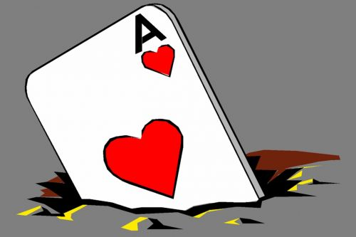 sakydamas,ace,skylė,kortelė,azartiniai lošimai